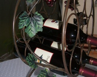 Vintage wine rack /  WINE NOT INCLUDED    / Reduced was 24.00 now 20.00