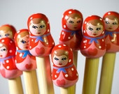Candy Floss Knitting Needles - Matryoshka - sailonbaby