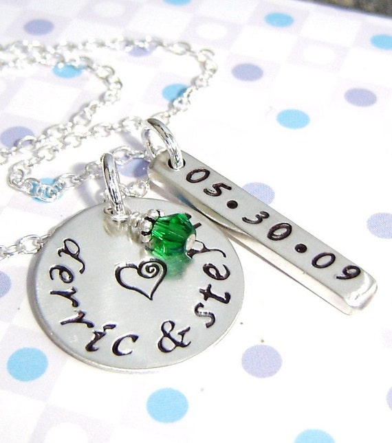 Reserved for bratni  - personalized heart shape charm only