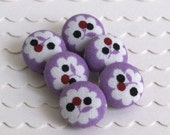 Berry Pie- 6 Small Buttons