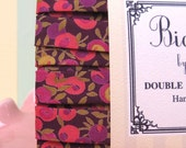 Bias Tape- Liberty Plum- Limited Edition Double Fold