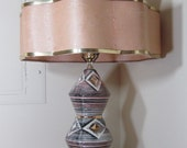 Reserved for Candy Only - Do Not Buy - Vintage Atomic Era Mid Century Modern Lamp