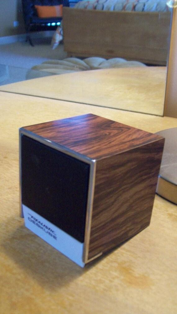 Vintage Realistic Desk Cube AM Radio Rare by Domus Modern on Etsy