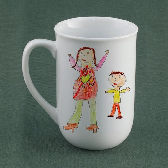 Reserved for PROKO-Your Childs Art on a Mug