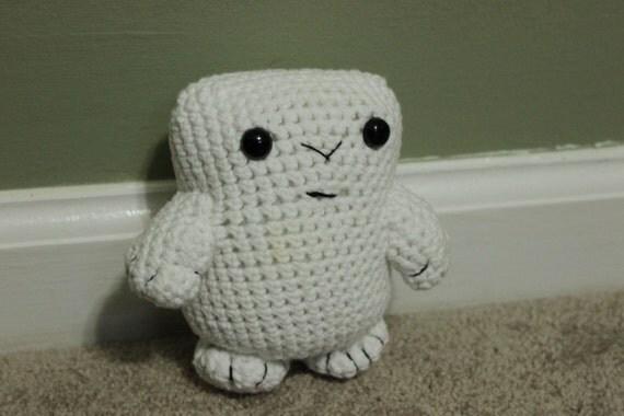 Adipose DOCTOR WHO Amigurumi Crocheted