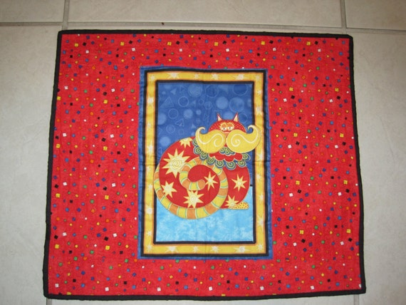 Quilted Cat Mat & Blanket - CM9
