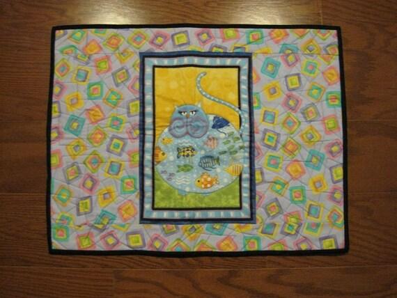 Quilted Cat Mat & Blanket - CM10