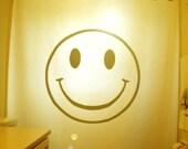 Smiley Face Shower Curtain happy face bathroom decor kids bath humor funny smilies smily smile grin unique