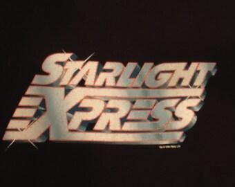 Starlight Express t-shirt shirt Broadway musical glee andrew lloyd webber punk grunge 80s eighties