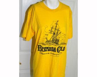 1970's Vintage Bermuda Gold Liqueur T-Shirt
