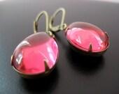 Abella Earrings - Vintage Brass