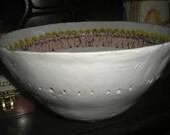White lady bowl