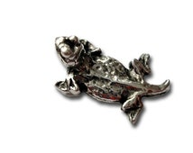Pewter Horny Toad Tac Pin
