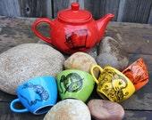 Alice in Wonderland Mad Hatter Tea Set