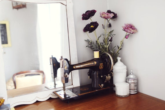 SALE - Antique Free Westinghouse Sewing Machine