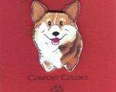 Corgi Dog Pin