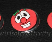 Bob the Tomato Buttons-Set of 3