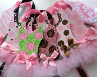 Tutu Hair Bow Holders