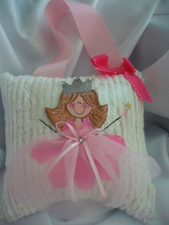 Hand Painted Tooth Fairy Pillow Tooth pillow tooth fairy