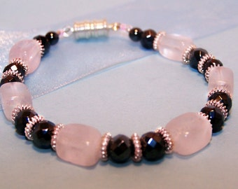 Cotton Candy and Licorice Bracelet