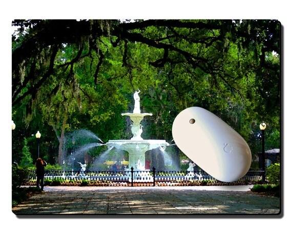 craft pad-large, Forsythe Park Fountain, Savannah