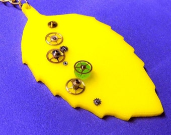 Endosymbionts Necklace - Biochemistry Related Jewelry by ScienceKitty