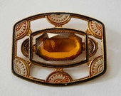 Golden Nile Jeweled Buckle