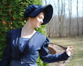 Regency Jane Austen Spencer short jacket for empire waisted dresses CUSTOM