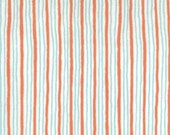Moda, City Weekend, Oliver Plus S, Stripes in Bistro Red, Fat Quarter