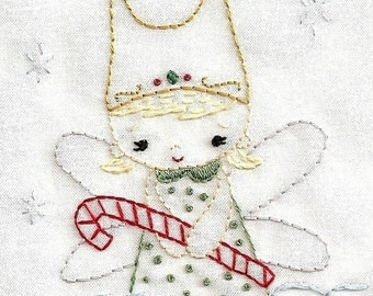 Annie Oakleaves, Little Angels Collection, PDF Embroidery Patterns