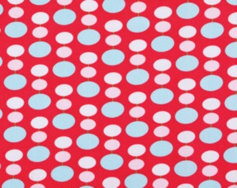 Tanya Whelan, Sugar Hill, LANTERN Dots in Red, 1/2 Yard