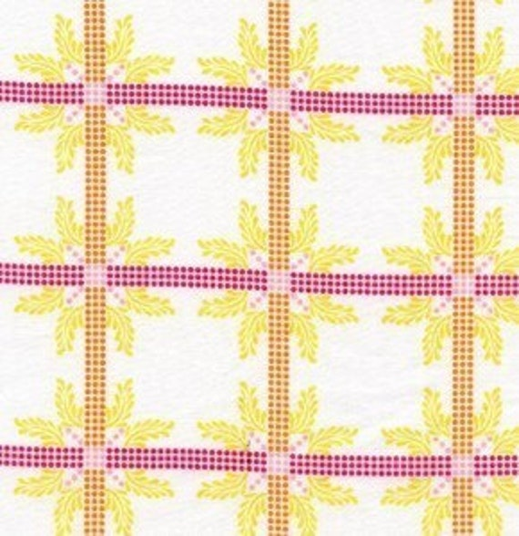 Reserved for Hudson, SALE, Anna Maria Horner, Little Folks Voile, Four Square in Sweet, 3.75 Yards