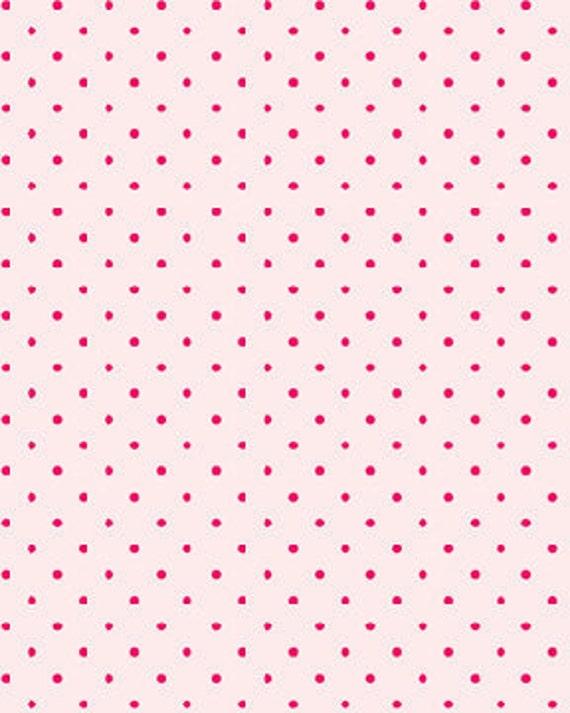Benartex, SWEET SHOPPE (Calico Candies), Michele D' Amore, Litte Polka Dot in Pale Pink, 1/2 Yard
