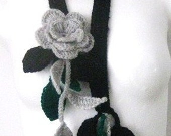 Summerdream flower scarf , neck decoration