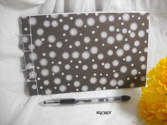 SALE -Guest Book Album and Pen Set - Glitter Burst