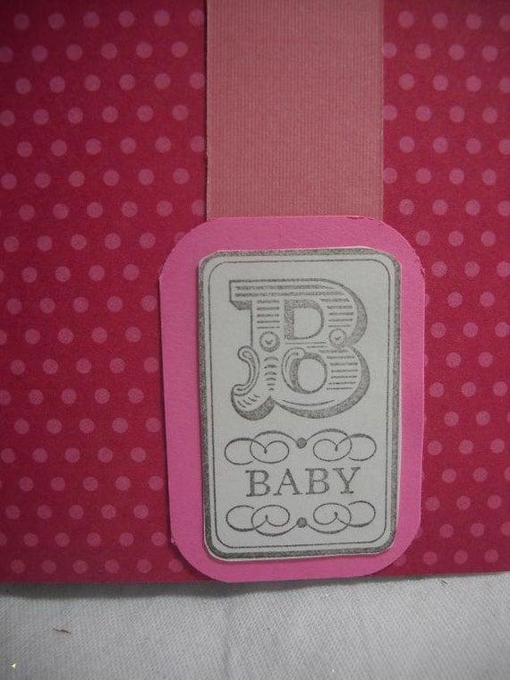 baby shower guest book keepsake album and pen set pink polka dot