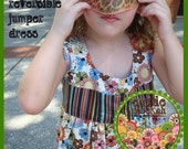 Easy Sewing Pattern Bonnie Reversible Baby Dress -- PDF Tutorial Instructions
