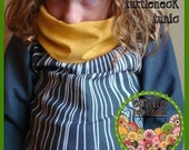 Easy Sewing Pattern Tillie Tunic Shirt Girls n Boys Toddler-- PDF Tutorial Instruction