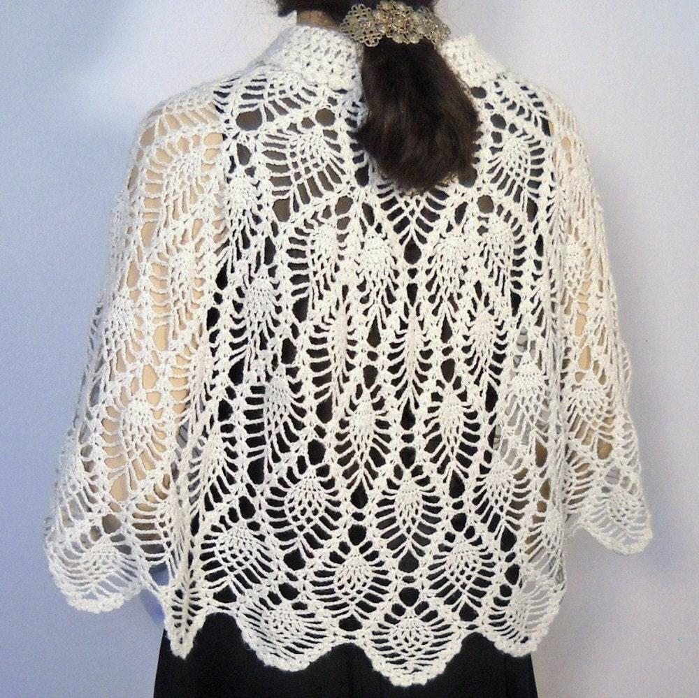 Crochet Shawl Pattern Pineapple Stitch Agcrewall