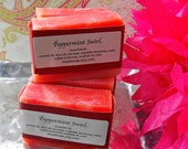 Peppermint Swirl Cold Process Soap