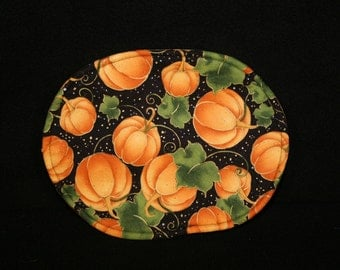 Hot Pads- Oval - Fall