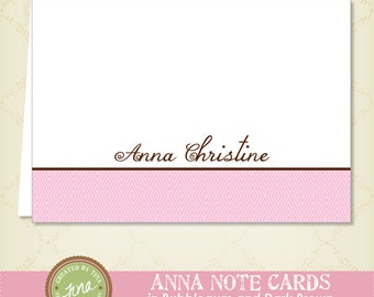 Anna Note Cards - Personalized