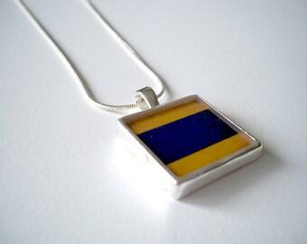 Nautical Flag D Pendant