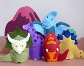 Prehistoric Pals - Five Dinosaur Finger Puppets