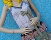 Curious Circus Gothic Candy Alice Lolita Wonderland Elfin Ragdoll Urchin Pixie Dolly Dress