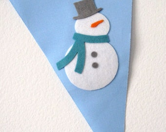 Let It Snow Bunting Banner
