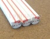 10 Kitty Polymer Clay Canes...Nail Art...Minature...Cane Bar...N4