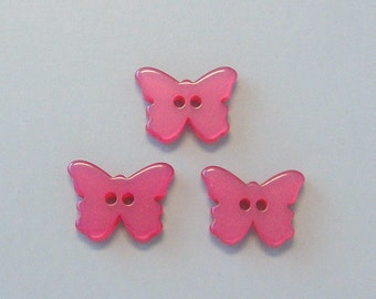 20pc Butterfly Buttons...2 hole... Sewing... EB86