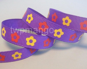 5 yards 3/8 inch Grosgrain Ribbon... Craft... Hair Bow... R20