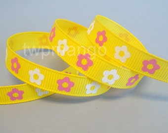 5 yards 3/8 inch Grosgrain Ribbon... Craft... Hair Bow... R24